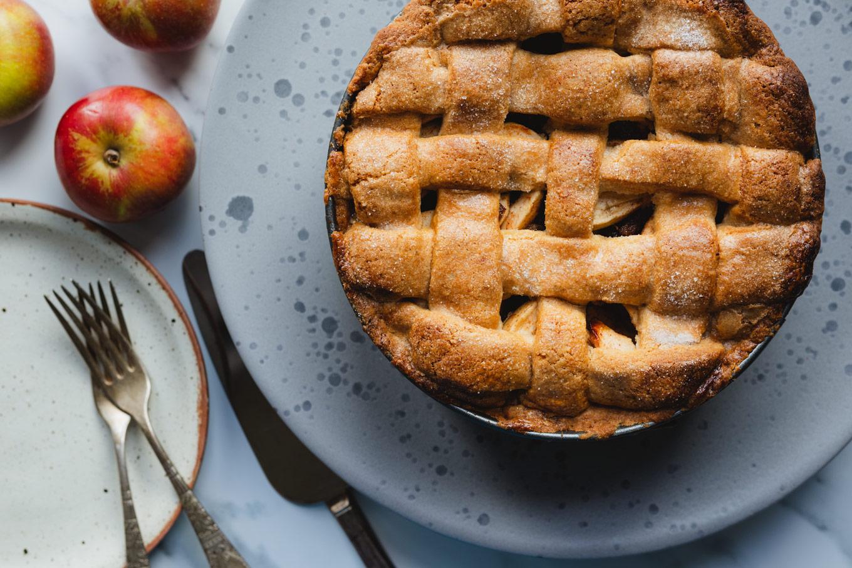 Appeltaart: Dutch apple pie