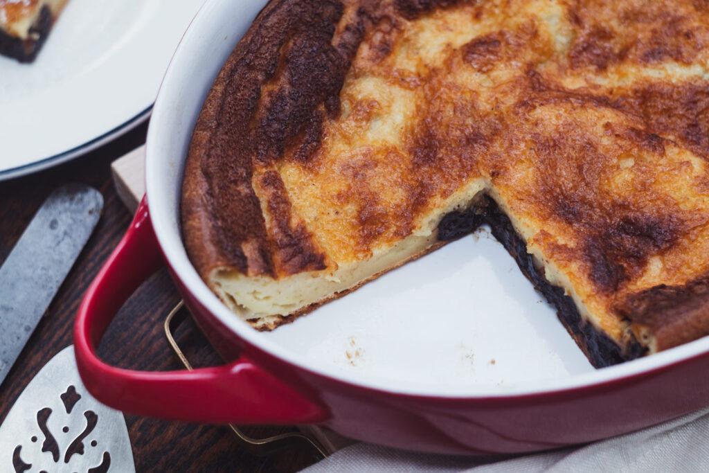 far breton with a slice missing